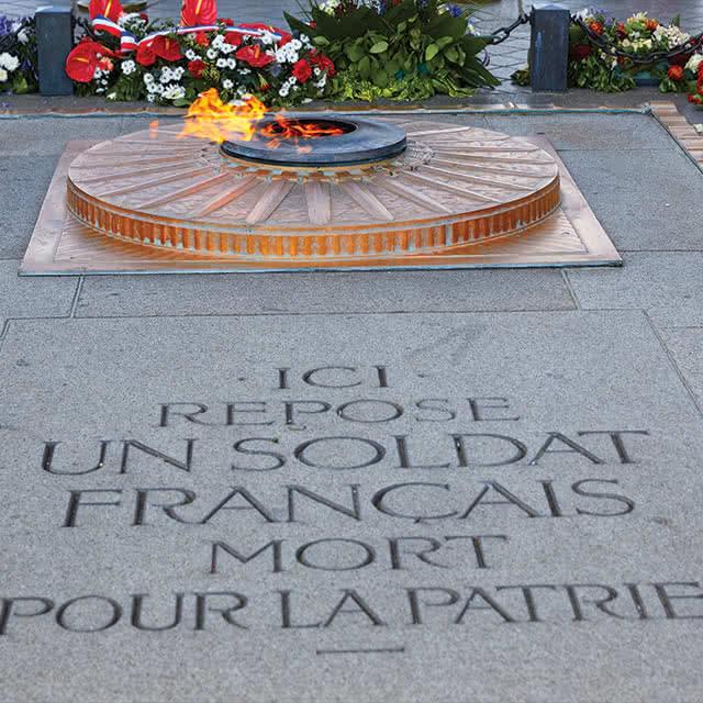 Ici repose un soldat français mort pour la patrie