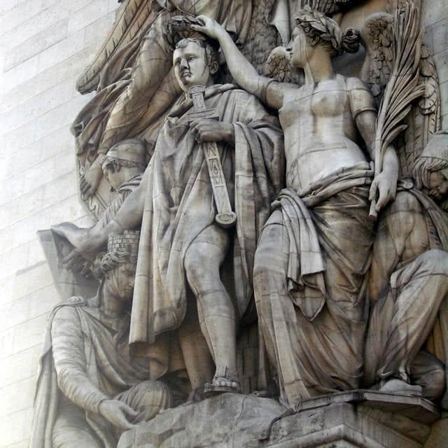 Haut-relief du Triomphe, par Jean-Pierre Cortot