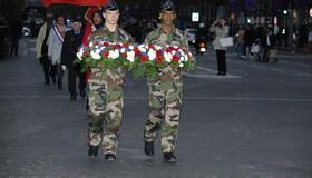 Parlementaires et Office national des anciens combattants et victimes de guerre de Polynésie française - ANORGEND - CFIM de Montlhéry - Bataillon des Somalis