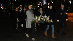 Commémoration de la libération du camp d'Auschwitz