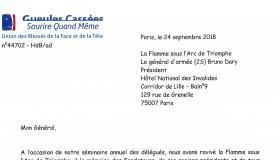 24 septembre 2018 - Les Gueules Cassées