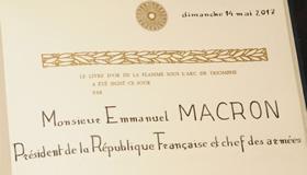 14 mai 2017 - Investiture du Président de la République Emmanuel MACRON