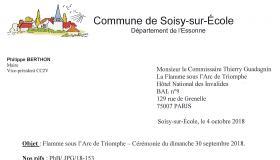 4 octobre 2018 - Commune de Soisy-sur-École