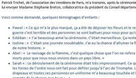 24 novembre 2019 - Témoignages - Conseil départemental de Vendée