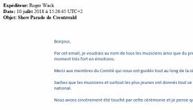 10 juillet 2018 - Show Parade de Creutzwald