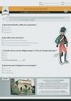 Questionnaire « Découvre l'Arc de Triomphe »