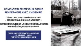 « Rendez-vous du Mont-Valérien » : Conférence de Frédérique Neau-Dufour