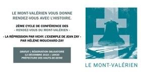 « Rendez-vous du Mont-Valérien » : Conférence d'Hélène Mouchard-Zay