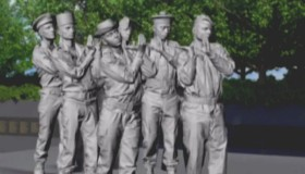 Inauguration du mémorial en hommage aux combattants morts pour la France en opérations extérieures