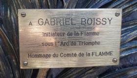 Restauration de la tombe de Gabriel Boissy, père de la Flamme