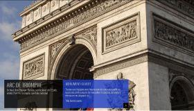 Ré-ouverture de l'Arc de Triomphe