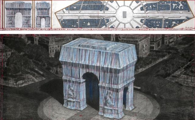 Actualisé] REPORT | Empaquetage de l'Arc de Triomphe | Projet
